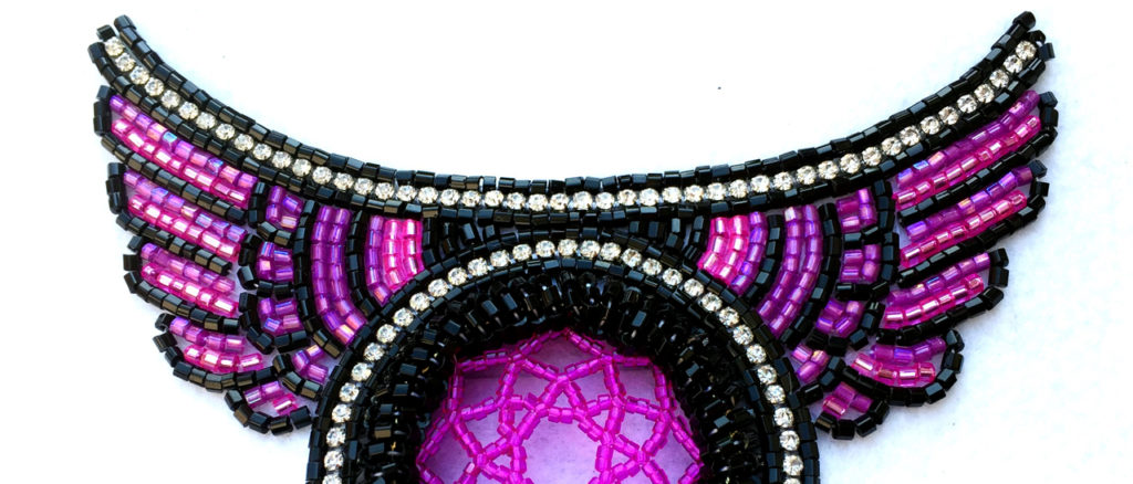 Bead work by Trip Charbs, former Art of Managing Your Career participant (tripcharbs.com)