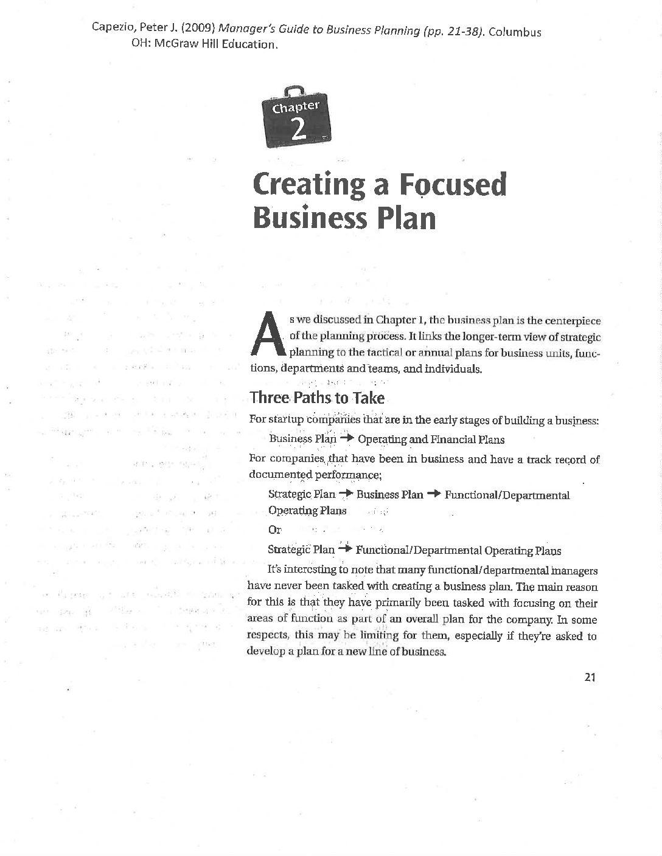 examples of good strategic plans pdf