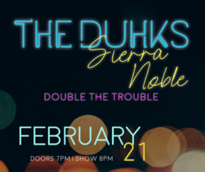 The Duhks and friends – Sierra Noble & Double The Trouble